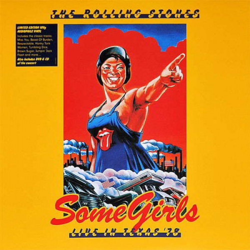 The Rolling Stones-Somegirls Live in Texas '78 (Ltd 2xLP plus DVD/CD)