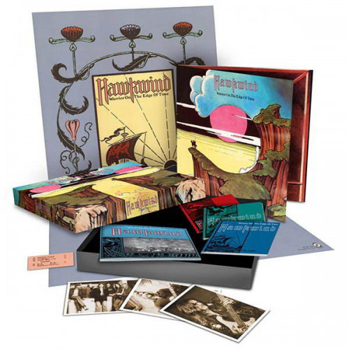 Hawkwind - Warrior On The Edge Of Time (Deluxe Box Set)