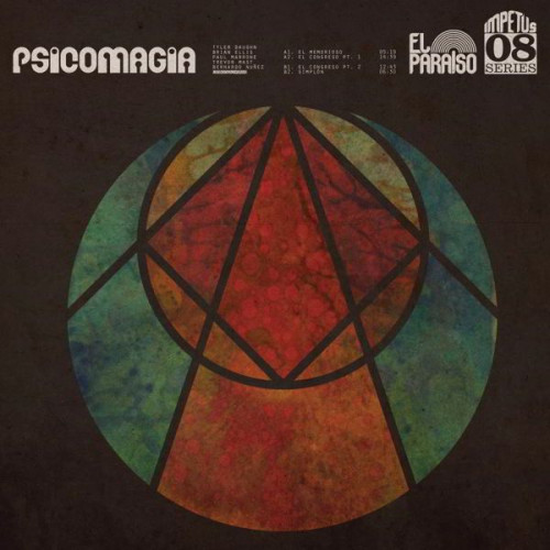 Psicomagia - S/T (Ltd Green, Black Marbled)
