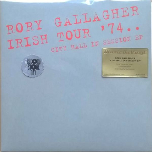 Rory Gallagher - Irish Tour '74 (City Hall In Session) (RSD 2015 Ltd)