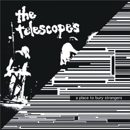 """A Place To Bury Strangers/The Telescopes-Down The Stairs/I Wanna Be Your Dog (Ltd Col. 10"""")"""
