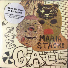 """Thee Oh Sees / Ty Segall  - The Drag / Maria Stacks (Split 7"""")"""