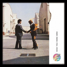 PINK FLOYD, Wish You Were Here, Framed Album Cover Print