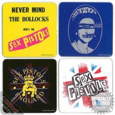 SEX PISTOLS, 4 Piece Coaster Set