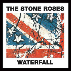 STONE ROSES, Waterfalls, Framed Album Cover Print